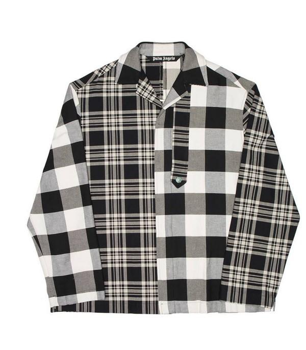 Plam Angels Patchwork Jacket Black / White