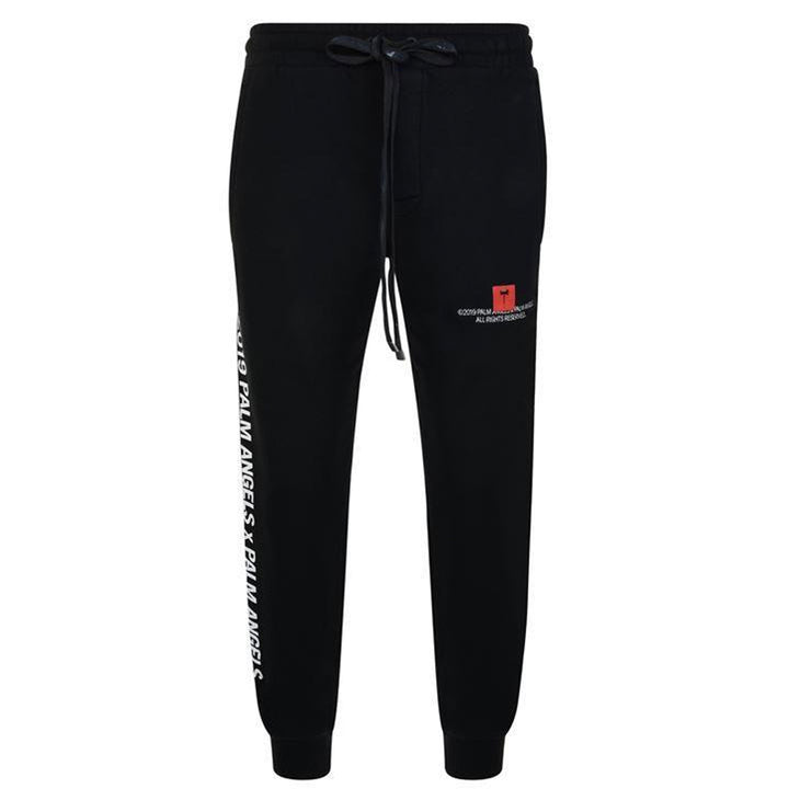 Palm Angels Palm x Palm Jogging Bottoms Black