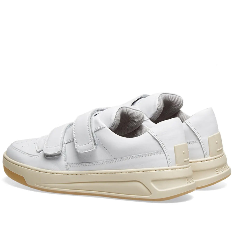 Perey Patch Sneakers - White | Acne Studios
