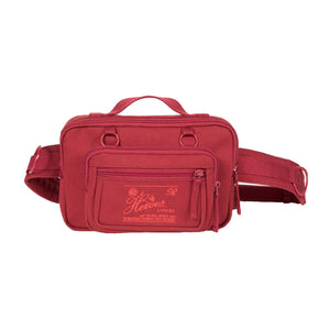 EASTPAK X Raf Simons Waistbag Loop Burgundy