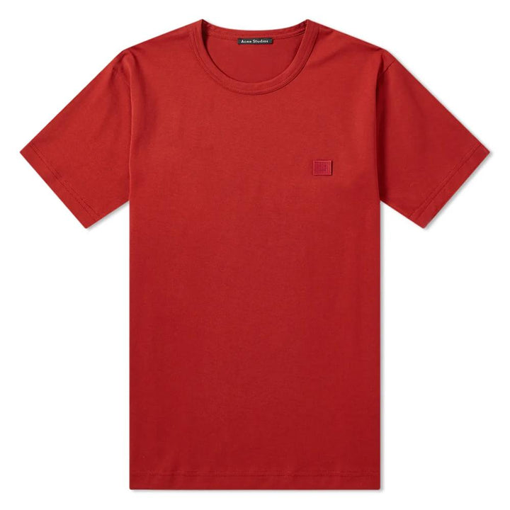 Nash Face Tee - Brick Red | Acne Studios