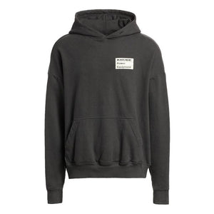 Power Equipment Hoodie - Black | RHUDE