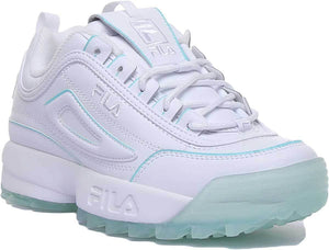 Disruptor II Ice - White/Blue | Fila