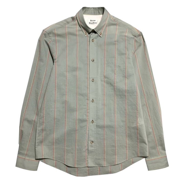 Sakis Shirt - Grey Red | Acne Studios