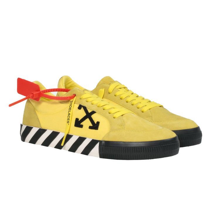 Low Vulcanized Sneaker - Yellow Black | Off-White