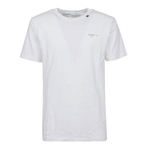 Unfinished S/S Slim Tee - White Silver | Off White