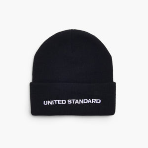 Basic Beanie - Black | The United Standard