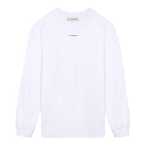 NFPM Long Tee - White | Drôle De Monsieur