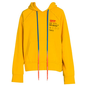 Industrial Y013 Incomp Hoodie - Yellow Black | Off-White