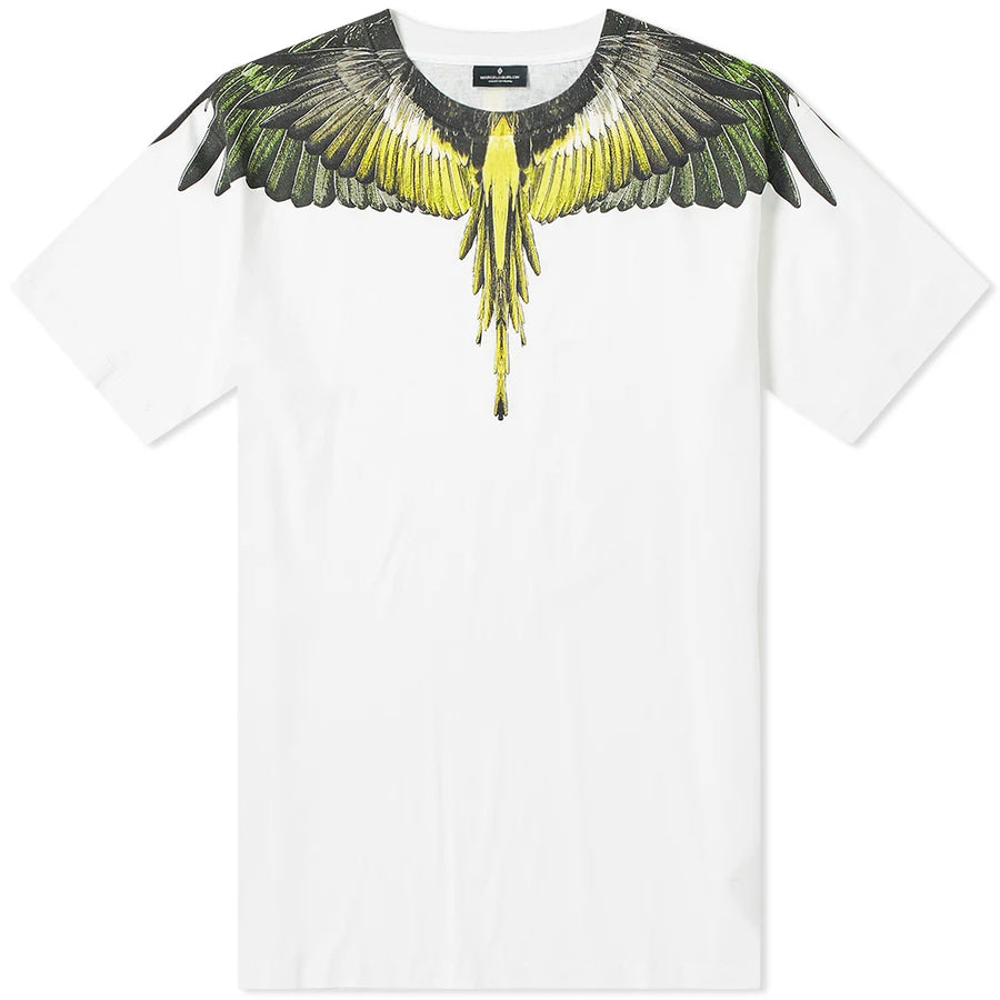 Yellow Wings T-shirt - White | Marcelo Burlon