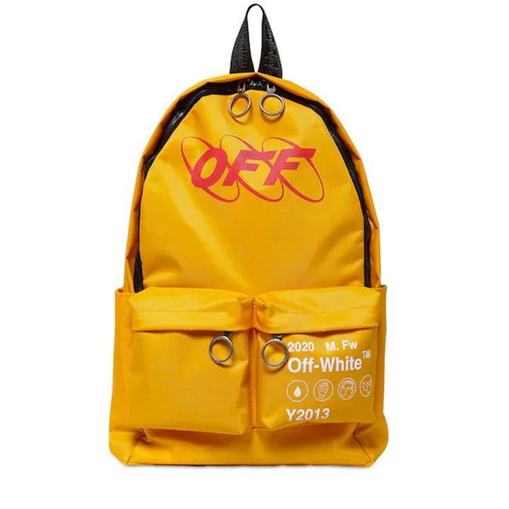 Industrial Y013 Backpack - Yellow Red | Off-White
