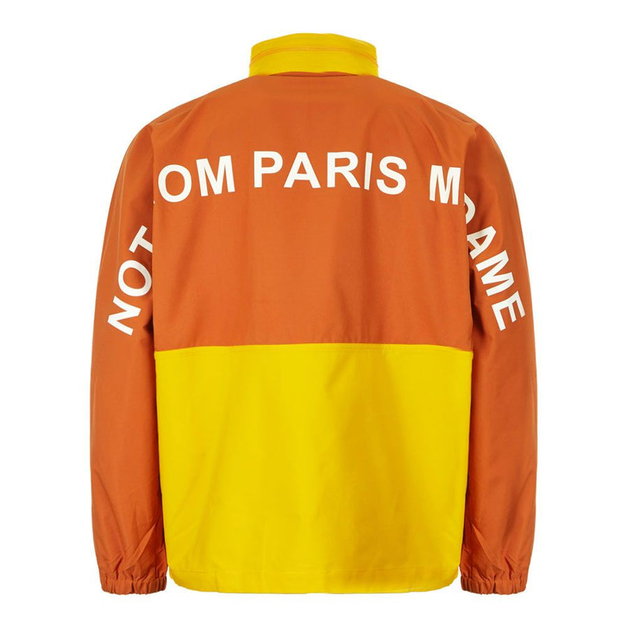 NFPM Windbreaker Jacket - Yellow Orange | Drôle De Monsieur
