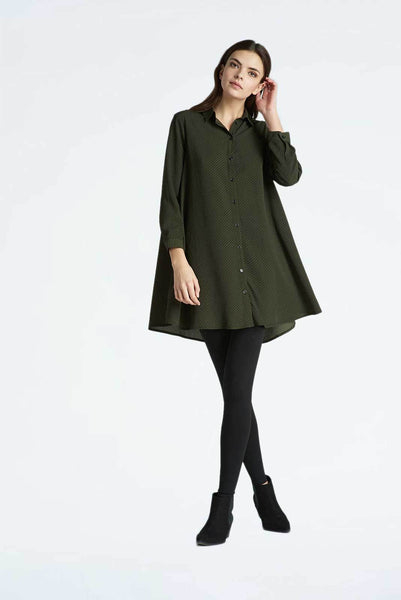 Trapeze Shirt Dress