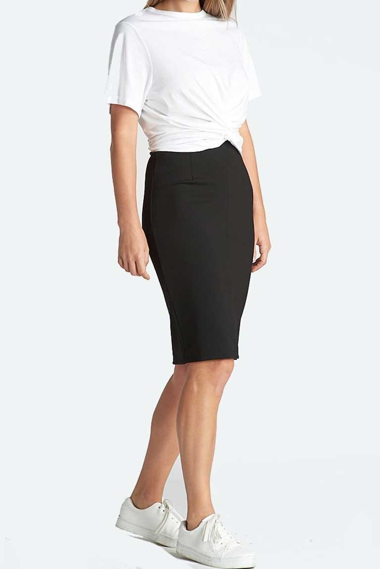 Double Knit Pencil Skirt