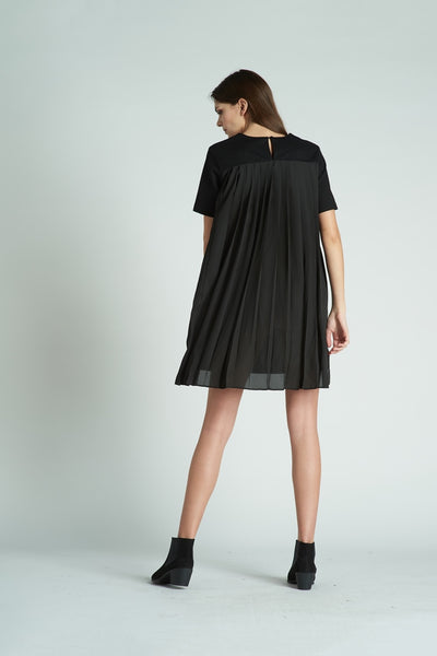 Sheer Paneled Dress