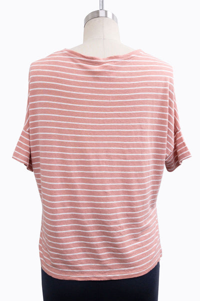 Striped Box Tee
