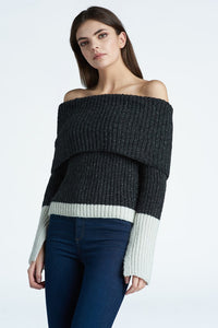 Off-Shoulder Pullover