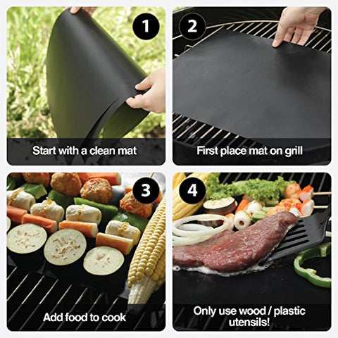 Image result for Non-Stick BBQ Baking Mats gif