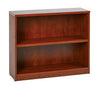 2 Shelf Laminate Bookcase - Barrows Express