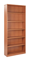 6 Shelf Laminate Bookcase - Barrows Express