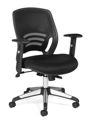 OTG11686 - Mid Back Mesh Managers Chair - Barrows Express