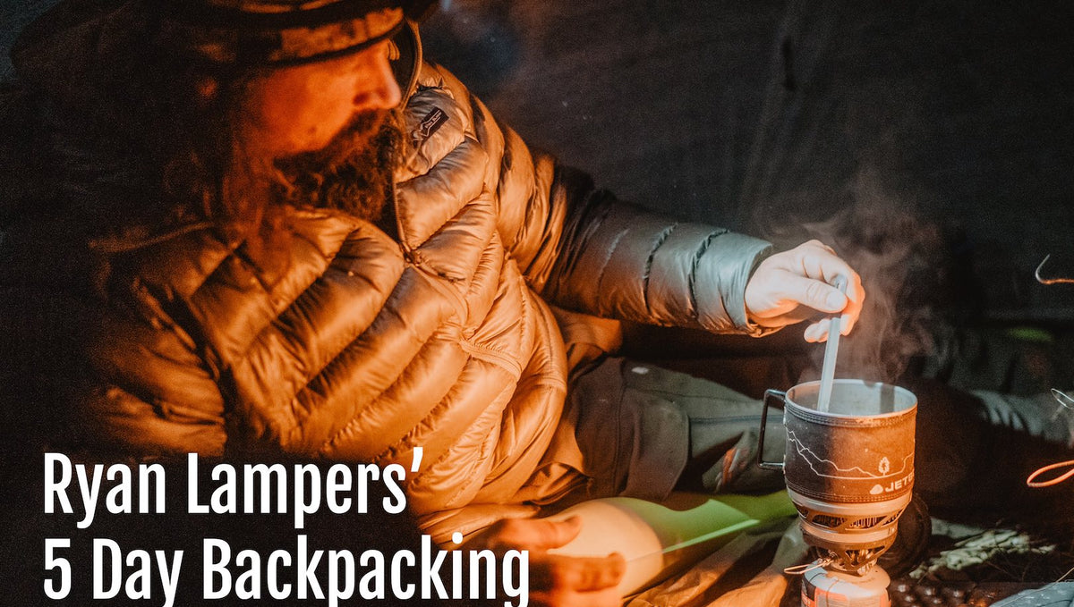 5 Day Backcountry Hunt Food Prep from Sthealthy Hunter, Ryan Lampers