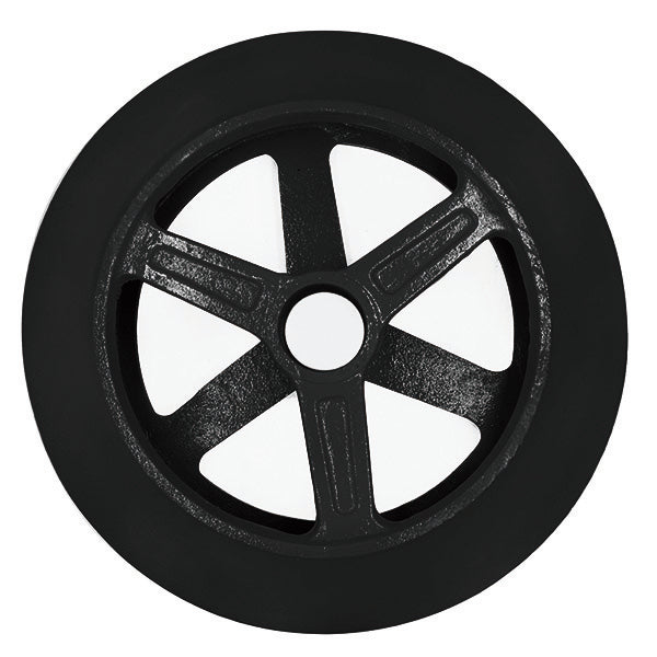 "15"" Cultipacker Wheel, 4"" wide x 2"" Smooth Hole Version"