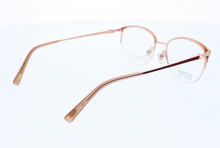 Load image into Gallery viewer, Womens Glasses Frames in Burgundy and Rose Gold by Designer Ruud Van Dyke