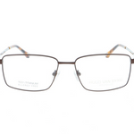 Titanium Mens Eyeglasses in Brown by Ruud Van Dyke