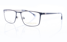 Load image into Gallery viewer, Titanium Designer Glasses Frames for Men in Matte Blue by Ruud Van Dyke