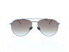 Daniel Hechter Mens Sunglasses in Dark Gun with Brown Gradient Lenses DHS206-5