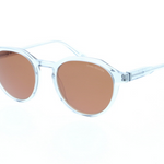 Daniel Hechter Mens Sunglasses Clear Brown Frames with Classic Vintage Style DHS211-2
