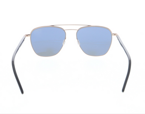 Daniel Hechter Designer Sunglasses in Copper with Retro Brow Bar DHS212-1