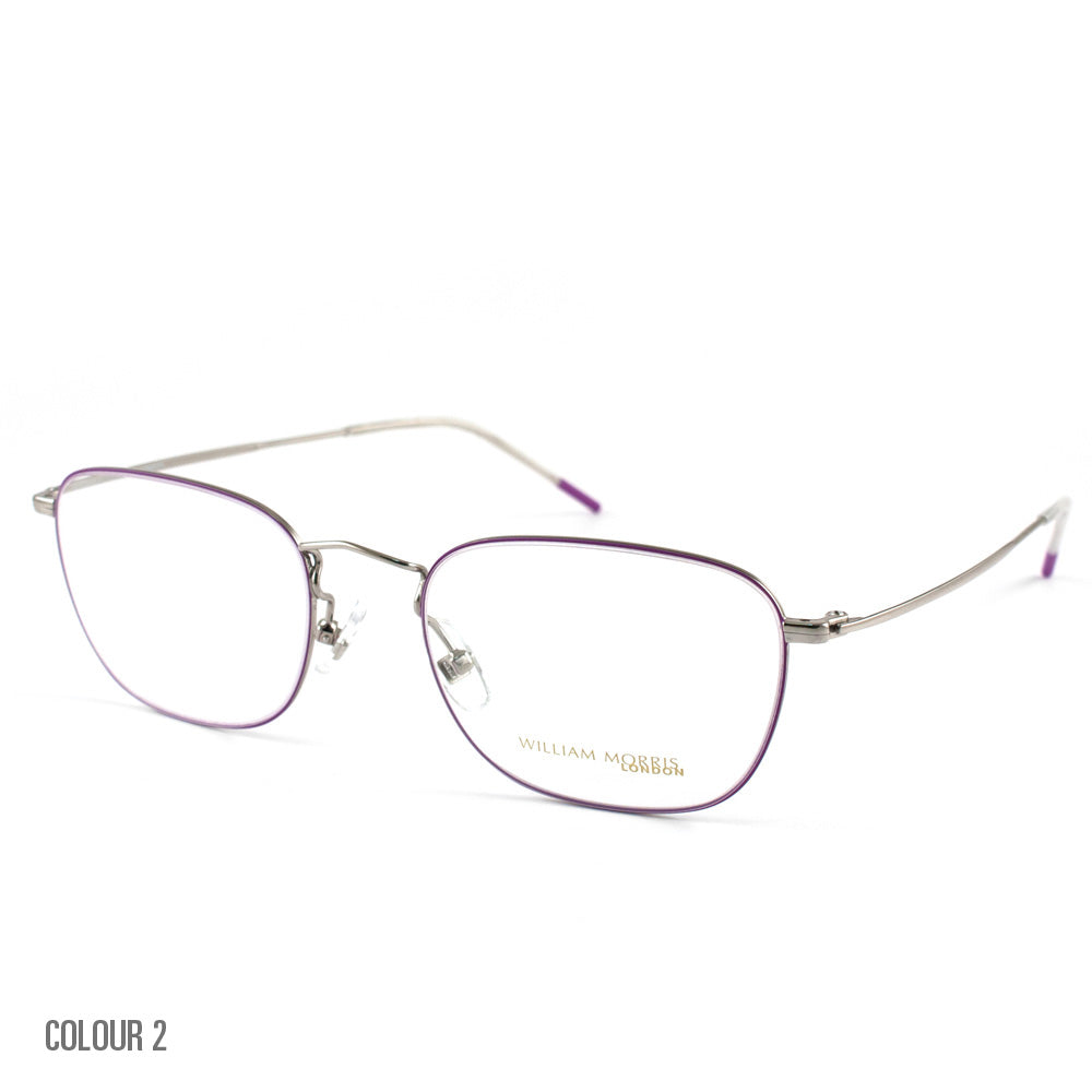 WILLIAM MORRIS LADIES GLASSES IN METAL WIRE AND PINK - WOMENS GLASSES FRAMES - LN50068