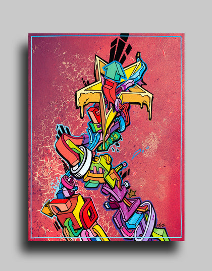 Graffiti Canvas Prints