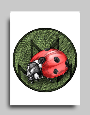 Lady Bug- Canvas
