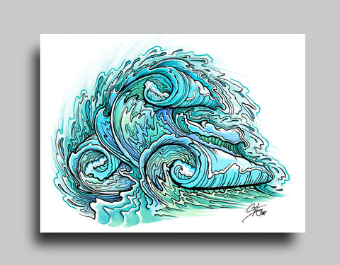 Wave - Canvas