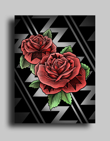 Roses - Canvas
