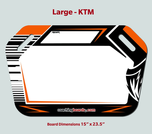 MotoCross Pit Board - Large