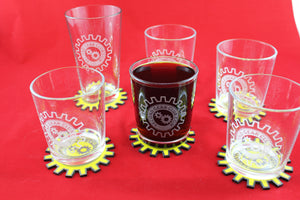 Glass Tumblers (Set of 6)