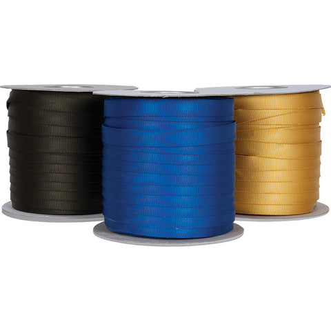 "CYPHER - 1"" TUBULAR WEBBING - BLUE - Cut to Length"