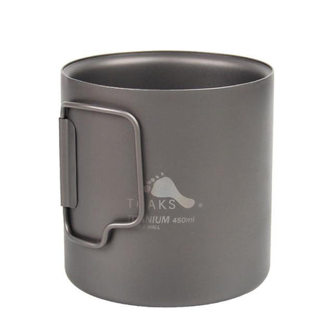 TOAKS TITANIUM 450ML DOUBLE WALL CUP