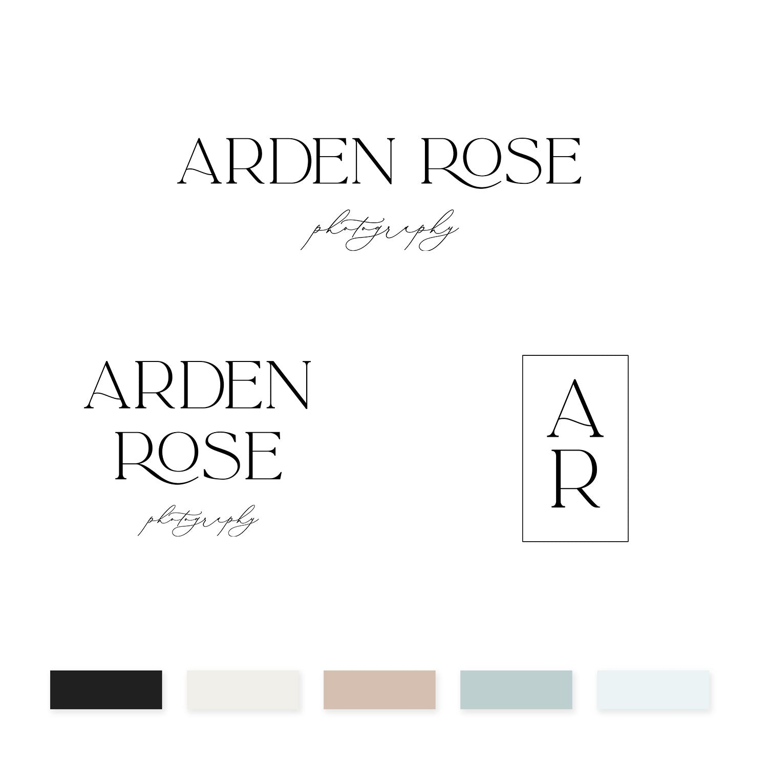Arden Rose Brand Kit - jessica gingrich
