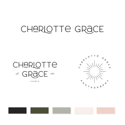 Charlotte Grace Brand Kit - jessica gingrich