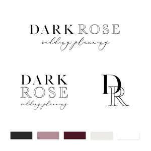 Dark Rose Brand Kit