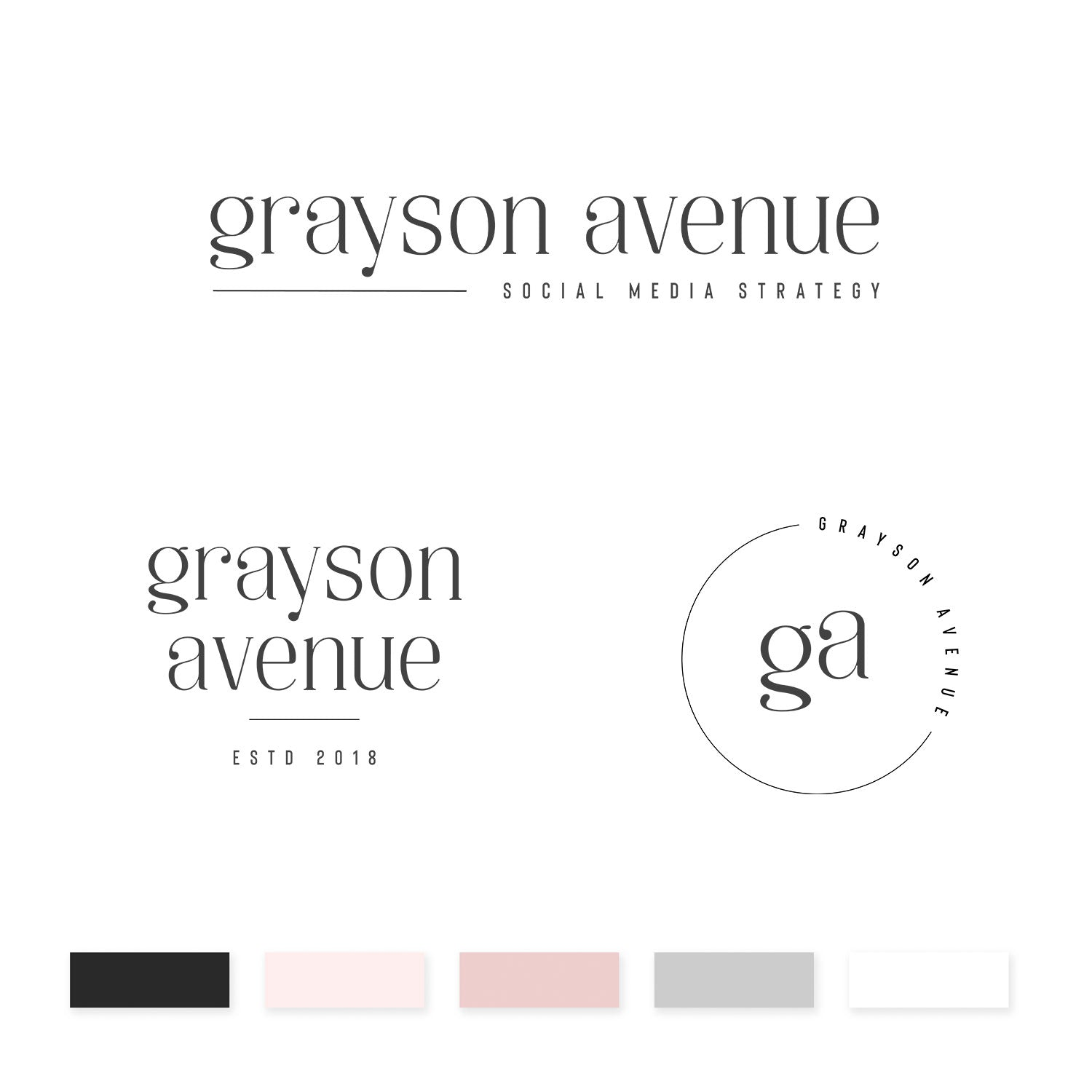 Grayson Avenue Brand Kit - jessica gingrich