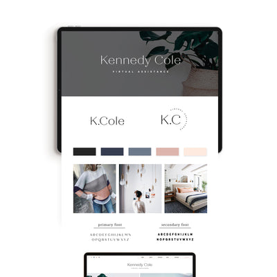 Kennedy Cole Brand Kit - jessica gingrich