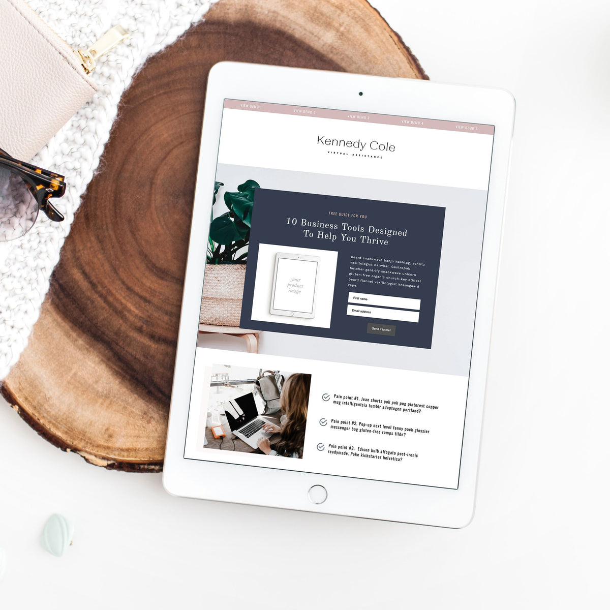 Landing Page Bundle Add-On - jessica gingrich