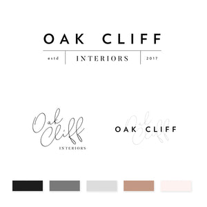 Oak Cliff Brand Kit