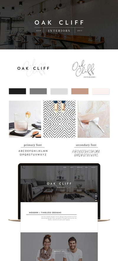Oak Cliff Brand Kit - jessica gingrich